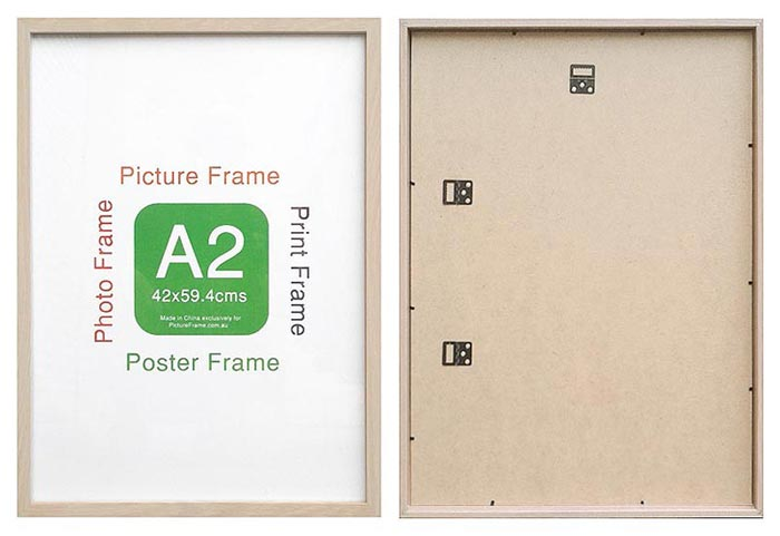 A2-bulk-buy-ready-made-natural-wood-frame-suits-42x59.4cms-paper-with-clear-glass