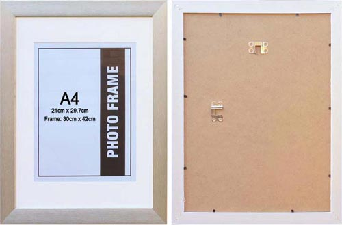A3-silver-photo-frame-with-A4-opening-with-clear-glass