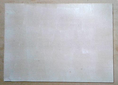 picture-framing-wet-mounting-a-MDF-backing-ready-for-vacuum-pressing-2nd-stage