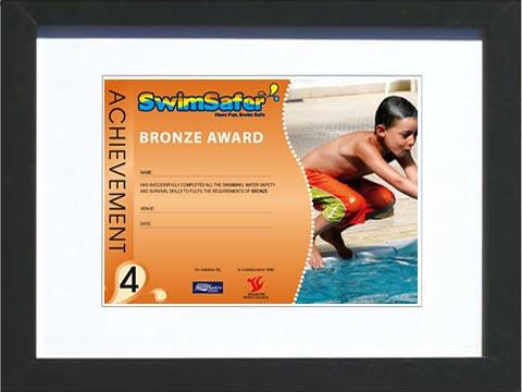 swiming-certificate-framedd-in-a-A4-black-matted-frame.jpg