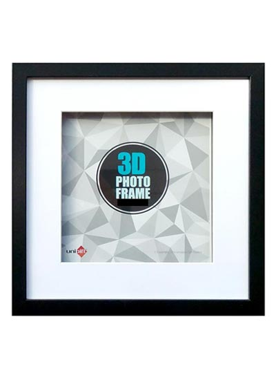 15x15-black-wood-3D-square-frame-with-10x10-opening-clear-glass-and-stand