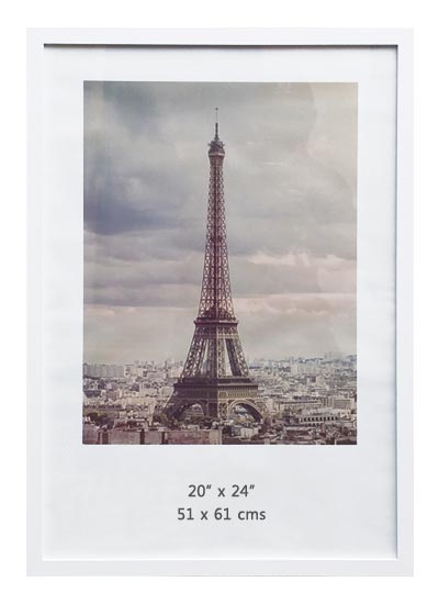 20x24-White-Wood-Ready-Made-Poster-Frame-(suits-51x61-cms-paper)-with-Clear-Glass