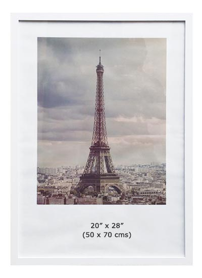 20x28-white-ready-made-wood-poster-frame-with-clear-glass