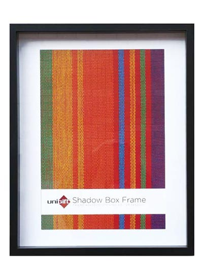 40x50-cms-black-shadow-box-3D-wood-frame-with-A3-opening-and-clear-glass