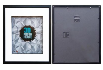 0x50cms-Black-Wood-Shadow-Box-frame-mat-inside-suits-28x35cms-picture-with-Clear-Glass-large