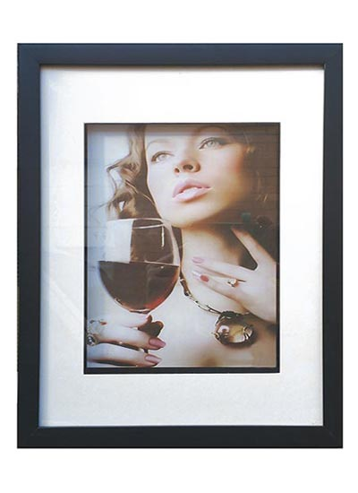 6x8-inches-white-3D-shadow-box-frame-with-4x6-inches-mat-opening-with-clear-glass