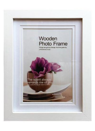 6x8-white-wood-photo-frame-with-5x7-opening-clear-glass-and-stand