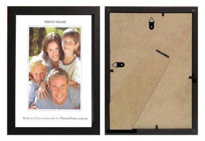 "This 8""x10"" Black Wood Photo Frame large"