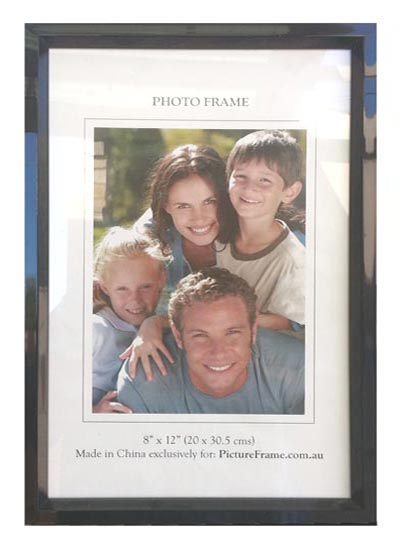 8x12-black-photo-frame-with-clear-glass-and-stand
