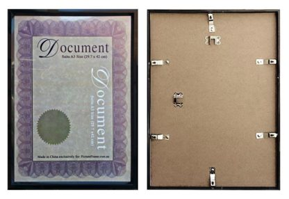 A3-black-budget-certificate-frame-with-clear-plastic-large