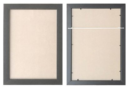 A3black-ready-made-wall-frame-with-clear-glass-large