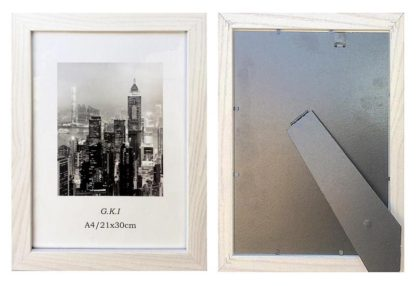 A4-beachwood-certificate-frame-with-clear-glass-and-stand