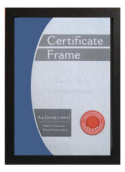 A4-black-wood-certificate-frame-with-clear-glass-and-stand