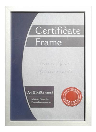 A4-silver-wood-certificate-frame-with-clear-glass-and-stand