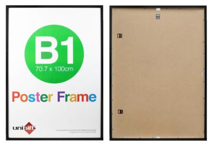 B1-black-wood-read-made-wall-poster-frames-with-clear-plastic-large
