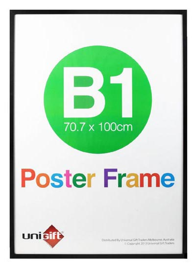 B1-black-wood-read-made-wall-poster-frames-with-clear-plastic