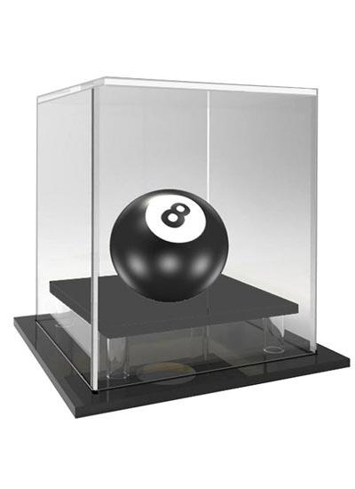 Billiard, Snooker & Pool Ball Acrylic Display Case (102Lx102Wx115Hmm)