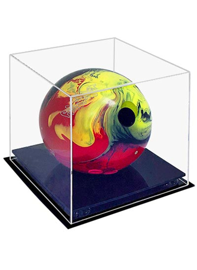 Bowling Ball Clear Acrylic Display Case (255Lx255Wx275Hmm)