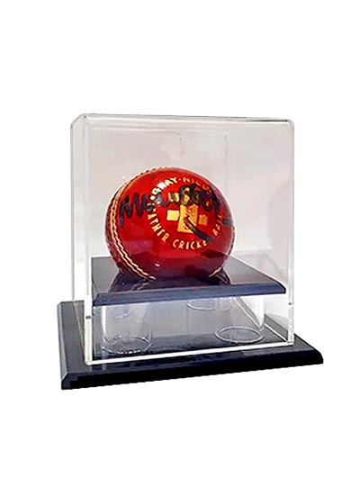 Cricket Ball Clear Acrylic Display Case (102Lx102Wx115Hmm)