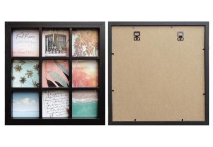 Instagram-Collage-Black-Wood-Photo-Frame-(for-9-only-10x10cms-or-4x4-photos)-with-Clear-Glass-large
