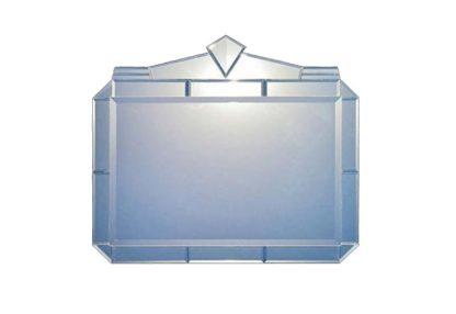 """Siracusa"" Art Deco Mirror (92x106cms)-large"