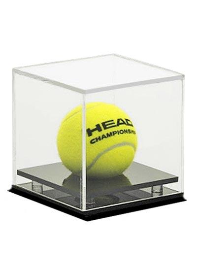 Tennis Ball Clear Acrylic Display Case (102Lx102Wx115Hmm)