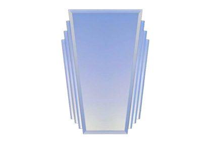 """Trapezoide"" Art Deco Mirror (64x90cms)-large"