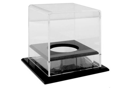 Tennis Ball Clear Acrylic Display Case (102Lx102Wx115Hmm)-large