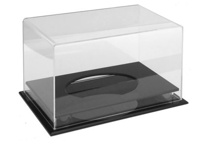 Rugby Ball Clear Acrylic Display Case (355Lx215Wx205Hmm)-large