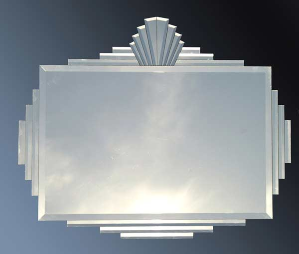 Alba Art Deco Mirror 88 5x106cms Photo Frames And Picture Frames Online Store