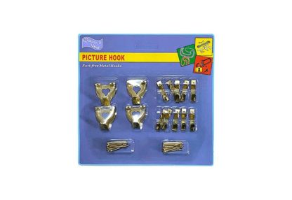 picture-hooks-and-wall-hooks-brass-plated-kit-of-14-assorted-large