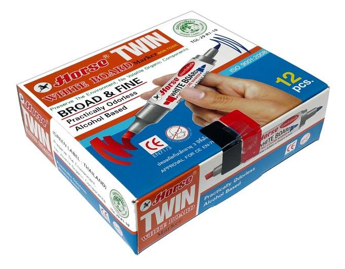 permanent-black-marker-texta-pens-pack-of-12