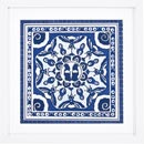 blue-print-with-white-frame-and-white-window-mat