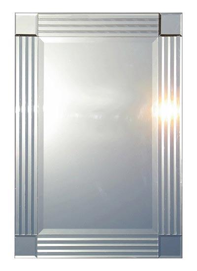 """Quadrone"" Art Deco Mirror (70x100cms)"