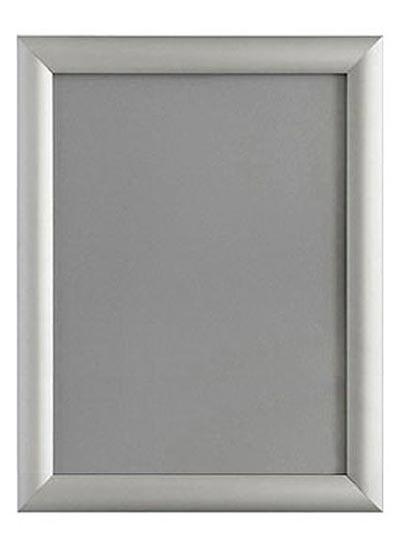 A4 Silver Aluminium Snap frame