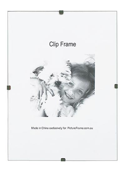 12x18-inches-frameless-wall-clip-frame-with-hangers-and-clear-glass