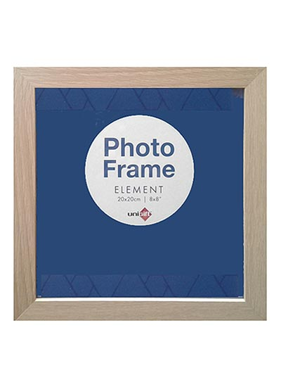 20x20-cms-Natural-Square-Plain-Wood-Frame-with-Clear-Glass-and-Stand